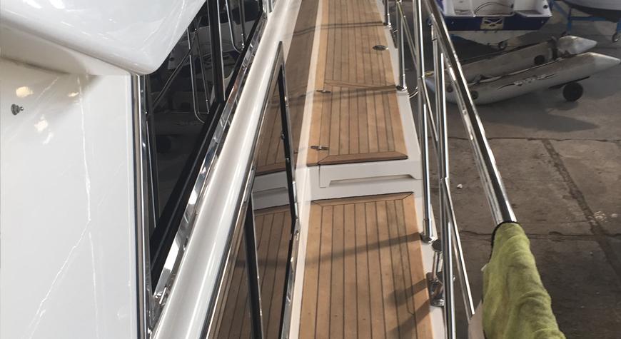 Yacht Holzarbeiten
