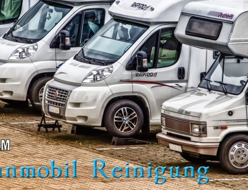 Wohnmobil Reinigung – Aufbereitung