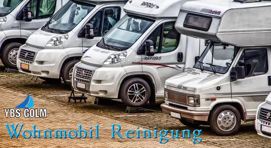 Wohnmobil Reinigung - Aufbereitung